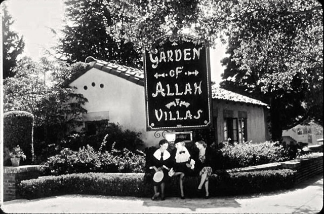 The real Garden of Allah hotel