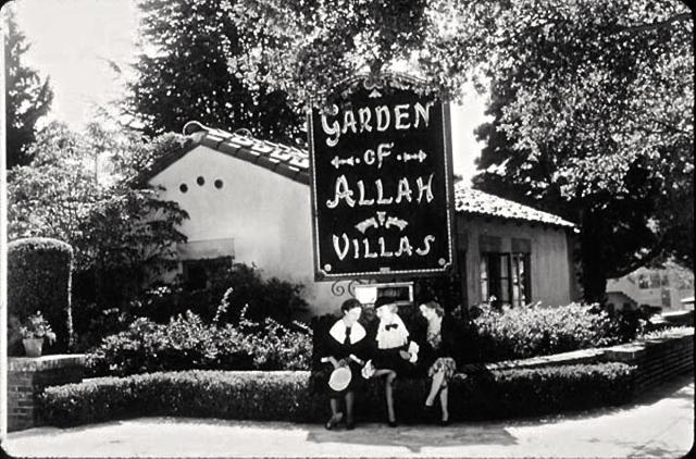 The real Garden of Allah hotel